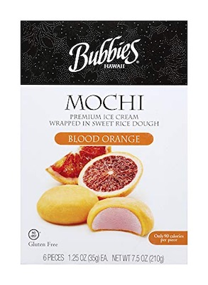 Blood Orange Mochi Ice …